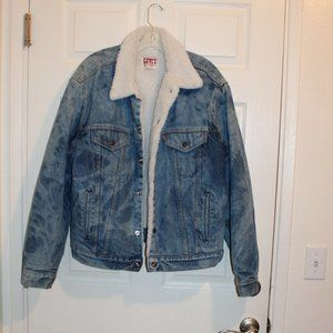 Levis 1970-1980 era Jean Jacket Men XL